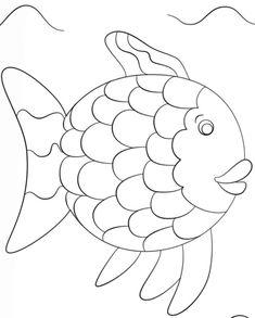 6 beste ausmalbilder fische gratis kostenlose | fisch vorlage, ausmalbilder fische, ausmalbilder