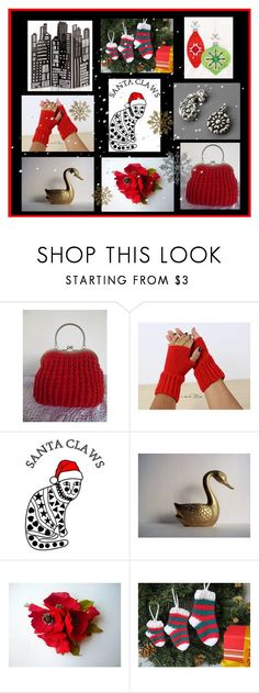 Gift Ideas for Christmas! #08 by colchico on Polyvore featuring moda, Christmas, handmade, etsyshop and etsyevolution