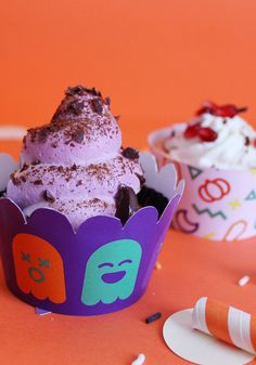 KIT porta cupcake di Halloween