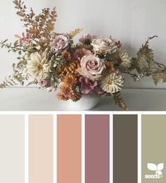 Ideas For House Paint Colors Schemes Design Seeds Paint Color Schemes, Colour Pallette, Wedding Color Schemes, Wedding Colour Palettes, Wedding Colors, Design Seeds, Wedding Design Inspiration, Color Inspiration, Decoration Palette