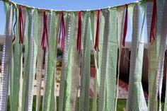Anthropology Inspired Wedding Backdrop Streamers by sugarplummoose, $80.00