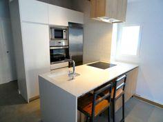 #www.creares.es #cocina #isla #diseño