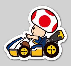 Nintendo Badge Arcade - Toad