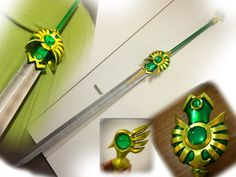 Prop  Sword reference:  CLAMP, Magic Knight Rayearth, Fuu