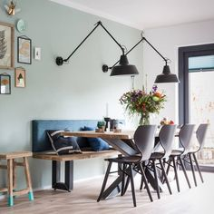15 Dining Room Ideas By Top Interior Designers From England Room, Home Living Room, Interior, Dining Room Lighting, Dining Room Design, Home Decor, House Interior, Home Deco, Interior Design