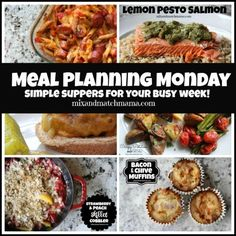 Meal Planning Monday #183