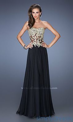 7 Best black and gold gown images  4f9e38c15ad4