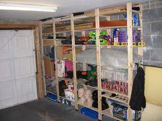 garage shelves?