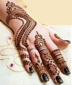Mehndi Design Offline is an app which will give you more than 300 mehndi designs. - Mehndi Designs and Styles - Henna Designs Hand Simple Arabic Mehndi Designs, Henna Hand Designs, Stylish Mehndi Designs, Mehndi Design Photos, Mehndi Simple, Beautiful Mehndi Design, Latest Mehndi Designs, Mehndi Art Designs, Mehndi Designs For Hands