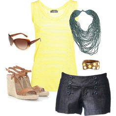 summer lovin!! I want these shorts and shoes!!!!!!!!!!!!!