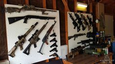 We love this picture sent to us by AirSplat Sponsored team Central Valley Airsoft Team! What does your workshop or armory look like? http://www.airsplat.com/cvat-central-valley-airsoft-team