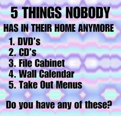 #home #DVD #CDs #filecabnet #Wall #Calendar #Take #Out #Menu #house #past #outdated #obsolete