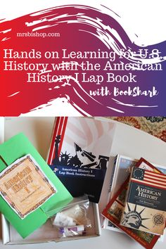 I know that a lot of you have students like mine, those who thrive on that extra step- that love getting their hands into what they're learning. That's why I LOVE BookShark- and was super excited to get to do the American History I Lap Book along with our Level D History curriculum. *BookShark Ambassador* Used Homeschool Curriculum, Homeschooling, Hands On Learning, Learning Activities, Us History, American History, Teaching History, Super Excited, Geography