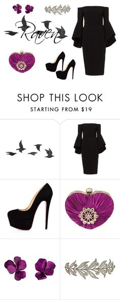 """""""Raven Queen"""" by freckled-gypsy on Polyvore featuring Jayson Home and JAR"""