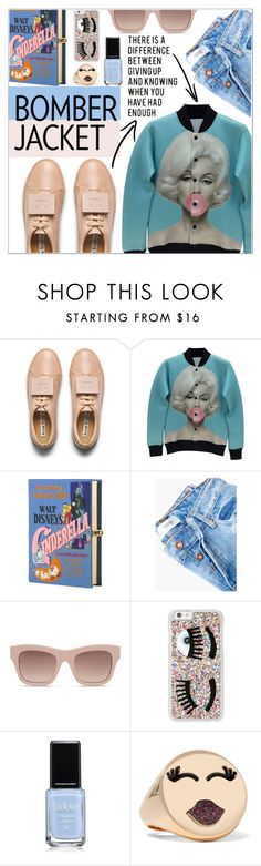 """""""Afterglow"""" by sonny-m ❤ liked on Polyvore featuring Acne Studios, Olympia Le-Tan, MANGO, STELLA McCARTNEY, Chiara Ferragni, Alison Lou, bomberjacket, polyvoreeditorial, polyvorecontest and winterstyle"""