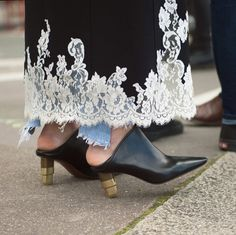 The Best, Worst, Craziest Street-Style Shoes From Fashion Month: Prettiest Juxtaposition