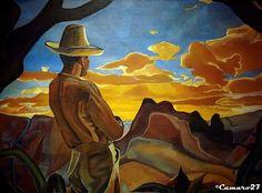 """Noé Canjura, """"Crepúsculo"""" (1941) MARTE Museo de Arte de El Salvador by CAMARO27, via Flickr"""