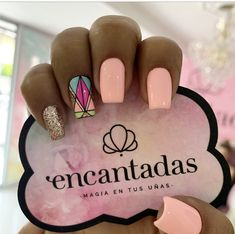 Fancy Nails, Love Nails, How To Do Nails, Pretty Nails, My Nails, Manicure Nail Designs, Nail Manicure, Baby Pink Nails, Gold Glitter Nails