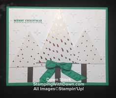 Stamping With Dawn: What a Gem - July Paper Pumpkin - Stampin' Up!