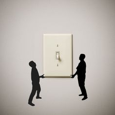 Guys carrying cute funny Vinyl Decal Sticker light switch cover outlet wall art gift present home house decor decoration Kitchen Wall Stickers, Wall Stickers Murals, Vinyl Wall Art, Wall Decals, Vinyl Decals, Wall Painting Decor, Wall Outlets, Light Switch Covers, Light Switch Art