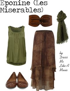 Eponine Les Mis  by dressmelikeamovie on Polyvore  sc 1 st  Pinterest & 75 best Les Mis inspired fashion images on Pinterest   Broadway ...