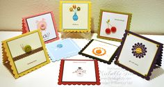 Button Buddies Hostess Club Cards - Stampin Up Demo Blogs 2stampis2b, Online Ordering & Tutorials by Michelle Tech Stampin Up Demo