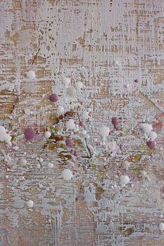 interesting textures in encaustic