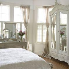 Gorgeous cream bedroom   Bedroom furniture   Decorating ideas   housetohome.co.uk