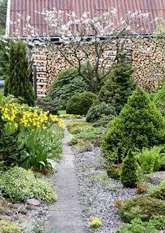 Kun Svetlana Polonskajan luona käy vieraita, he haluavat yleensä  itselleenkin samanlaisen kivikkopuutarhan. Eikä ihme, täällä värit räiskyvät epätodellisen kirkkaina ja kasveja on tuhansia.