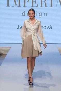 Jana Kuzmová for IMPERIA DESIGN Shirt Dress, Design, Shirts, Collection, Dresses, Fashion, Shirtdress, Fashion Styles, Dress