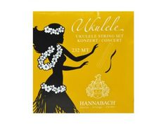 High Quality Hannabach Ukulele strings developed by Werner Hannabach for professional players. The Concert set is Medium Tension. Ukulele Accessories, Ukulele Strings, Germany, Guitar, Concert, How To Make, Handmade, Hawaiian, Core