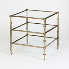 Prima Design Source GO008 Tiered Square Accent Table | ATG Stores