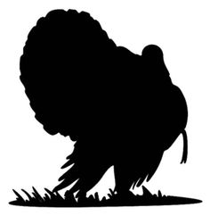 "Turkey Gobbler #11MD Bird Hunting Window Stickers 6"" - Wildlife Decal"
