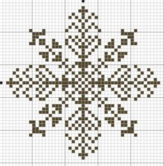 Снежинки – схемы для вышивки крестиком. Обсуждение на LiveInternet - Российский Сервис Онлайн-Дневников