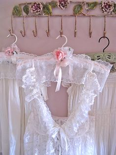 Boudoir Hangers by kimberlyannryan, via Flickr