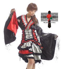 Punk Lolita kimono