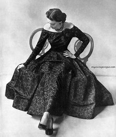 1947- I would love to twirl in a dress like this one day