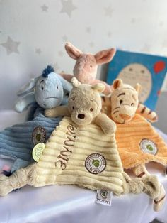 Sep 29, 2020 - The super soft Winnie-the-Pooh Comfort Blanket, made from highest quality, premium plush fabric, makes the perfect cuddle companion. Based on the famous character from A.A Milne's heart-warming Tales from the Hundred Acre Wood storybooks, the classically stylised character-led Comfort Blanket