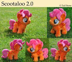 Scootaloo - Plush by TadStone