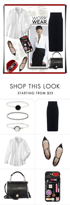 """""""Work Wear"""" by emcf3548 ❤ liked on Polyvore featuring Accessorize, 10 Crosby Derek Lam, Oxford, Miu Miu, Casetify and ZeroUV"""