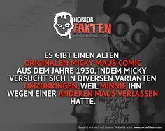 Wer von euch las damals bzw. heute auch Micky Maus Comics?  #horrorfakten #horror #fakten