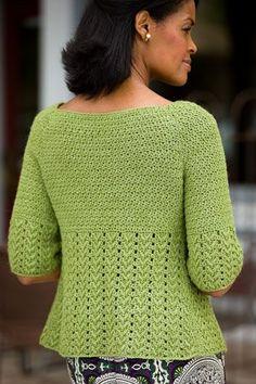 Sage Jacket - CrochetMe