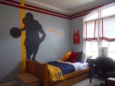 Basketball Bedroom Ideas 1 New Basketball Theme for Teen Bedrooms Design
