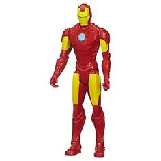 Marvel Avengers Titan Hero Series Iron Man 12Inch Figure ** Details can be found by clicking on the image. (This is an affiliate link) #Marvel