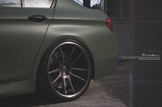 BMW F10 M5 x Brixton Forged M53 Monaco Series wheels // Los Angeles, California - www.brixtonforged.com