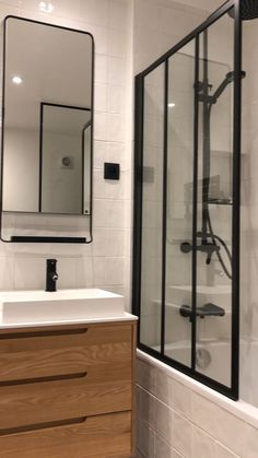 """This is """"Bathroom Black & White"""" by Thomas JENNY on Vimeo, the home for high quality videos and the people who love them. Black And White, House, Home, Bath, Bathroom, Bathroom Design Small, White, Bathroom Design, Black Bathroom"""