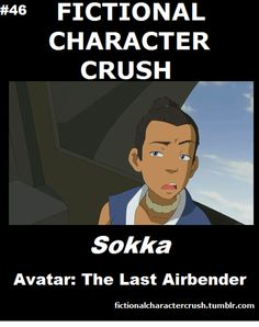 #46 - Sokka from Avatar: The Last Airbender 18/07/2012 I love Sokka!