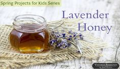 Welcome to the first post in our new Spring Projects for Kids Series! We have talked about this recipe before, and it is the perfect beginner herbal project for kids! In just two steps, they can ma. Lavender Honey, Lavender Flowers, Spring Projects, Projects For Kids, Paleo For Beginners, Kids Series, Just Eat It, After School Snacks, Spring Activities