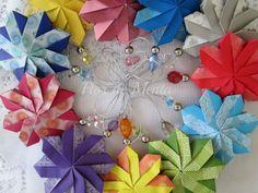 * Origami Sachets *   Criação: Isa Klein Vídeo (tutorial): http://www.youtube.com/watch?v=zR2L2yFMjIA Execução: Margareth Mazzilli  Novembro/2013  Blog: http://flordementa.blogspot.com.br/