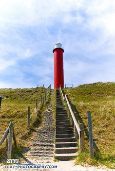 Lighthouse at Julianadorp, The Netherlands, by jerry-photography, via Flickr